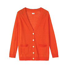 Buy Toast Adelaide Cardigan, Citrina Online at johnlewis.com