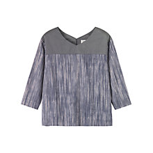 Buy Toast Aichi Cotton Top, Slate Online at johnlewis.com