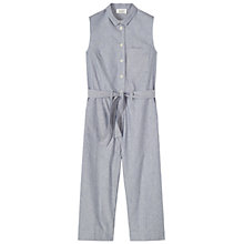 Buy Toast Fantine Stripe Jumpsuit, Indigo/Ivory Online at johnlewis.com