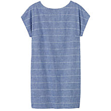 Buy Toast Riva Chambray Stripe Dress, Chambray Online at johnlewis.com