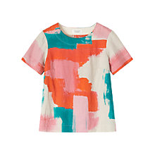 Buy Toast Madee Print Top, Natural/Multi Online at johnlewis.com