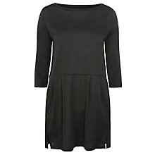 Buy Toast Ama Tunic Dress, Dark Grey Melange Online at johnlewis.com
