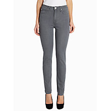 Buy Lee Skyler High-waist Skinny Jeans, Clean Grey Online at johnlewis.com