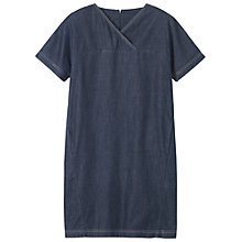 Buy Toast Mori Cotton Dress, Indigo Online at johnlewis.com