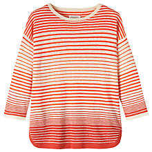 Buy Toast Stripe Sweater, Red/Ecru Online at johnlewis.com
