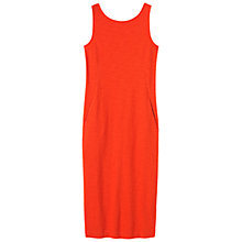 Buy Toast Lydia Midi Dress, Cadmium Red Online at johnlewis.com