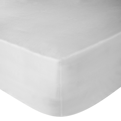 John Lewis 400 Thread Count Soft & Silky Egyptian Cotton Deep Fitted Sheet