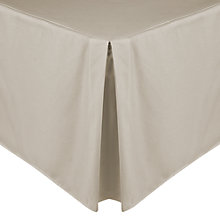 Buy John Lewis Egyptian Cotton 200 Thread Count Centre Pleat Valance Online at johnlewis.com