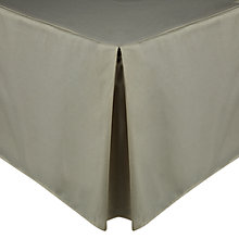Buy John Lewis Luxury Egyptian Cotton 200 Thread Count Centre Pleat Valance Online at johnlewis.com