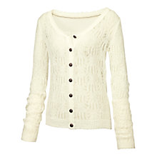 Buy Fat Face Pointelle Cardigan Online at johnlewis.com