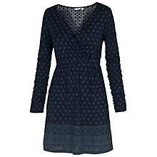 Buy Fat Face Windsor Woodblock Tunic, Navy Online at johnlewis.com