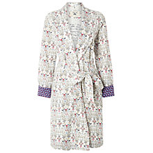 Buy White Stuff Hedgehog Print Robe, Iced Frappe Online at johnlewis.com