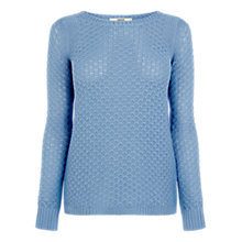 Buy Oasis Texture Front Knit Top Online at johnlewis.com