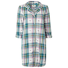 Buy White Stuff Jacquard Check Nightshirt, Tuscan Online at johnlewis.com