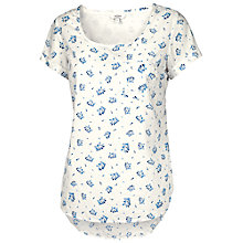 Buy Fat Face Bella Petal Ditsy Top Online at johnlewis.com