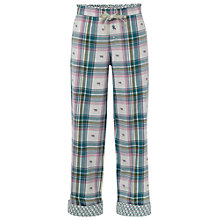 Buy White Stuff Jacquard Check Pyjama Bottoms, Tuscan Online at johnlewis.com