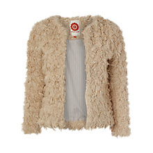 Buy White Stuff Faux Lamb Jacket, Neutral Online at johnlewis.com