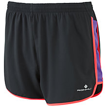 Buy Ronhill Aspiration Liberty Shorts, Black Online at johnlewis.com
