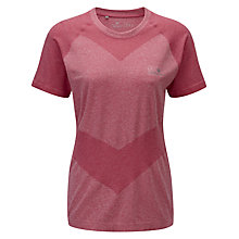 Buy Ronhill Aspiration Cool Knit T-Shirt, Pink Online at johnlewis.com