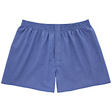 Buy Thomas Pink Falcon Check Boxers, Navy/White Online at johnlewis.com