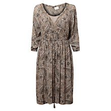 Buy East Antoinette Wrap Dress, Stone Online at johnlewis.com