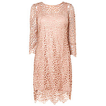 Buy Phase Eight Suzani Dress, Powder Online at johnlewis.com