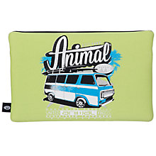 Buy Animal Brents Soft Pencil Case, Black/Lime Online at johnlewis.com