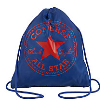 Buy Converse Children's Gym Sack, Blue Online at johnlewis.com