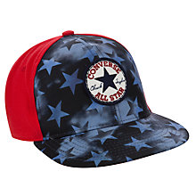 Buy Converse Children's Chuck City Cap, Navy, One Size Online at johnlewis.com