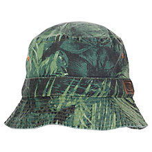 Buy Animal Children's Veroo Bucket Hat, Camouflage, One Size Online at johnlewis.com