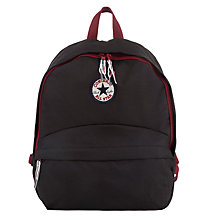 Buy Converse Children's All Star Backpack, Black/Purple Online at johnlewis.com