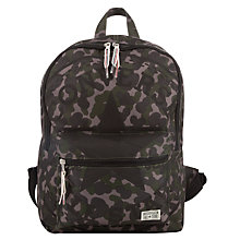 Buy Converse Children's Camouflage Print Backpack, Green/Multi Online at johnlewis.com