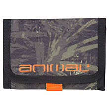 Buy Animal Children's Cley Wallet, Green Online at johnlewis.com