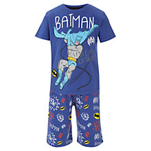 Buy Batman Themed Pyjamas, Blue Online at johnlewis.com