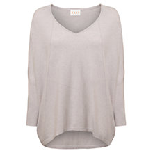 Buy East Oversized Seam Jumper, Ash Online at johnlewis.com