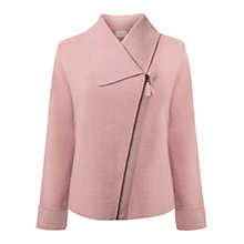 Buy East Boiled Wool Biker Jacket Online at johnlewis.com
