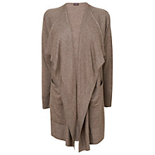Buy Phase Eight Romilly Cardigan, Mushroom Marl Online at johnlewis.com