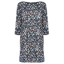 Buy Warehouse Camo Print Textured Dress, Multi Online at johnlewis.com