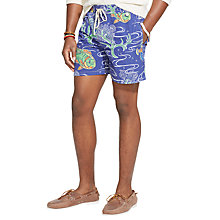 Buy Polo Ralph Lauren Traveler Tropical Fish Swim Shorts, Blue Online at johnlewis.com