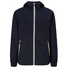 Buy Lyle & Scott Canvas Hood Jacket, Navy Online at johnlewis.com