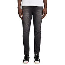 Buy Cheap Monday Dropped Slim Fit Jeans, Base Grey Online at johnlewis.com