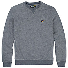 Buy Lyle & Scott Crew Neck Sweatshirt Online at johnlewis.com