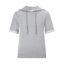 Buy Eleven Paris Gadry Short Sleeve Hoodie, Grey Chine Online at johnlewis.com
