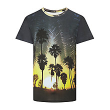 Buy Eleven Paris Hoop M Snoop T-Shirt, Multi Yellow Online at johnlewis.com