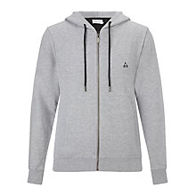 Buy Eleven Paris Sum Boris Zipped Hoodie, Grey Chine Online at johnlewis.com