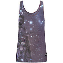 Buy Eleven Paris Hador M Vador Graphic Print Cotton Vest, Purple Online at johnlewis.com