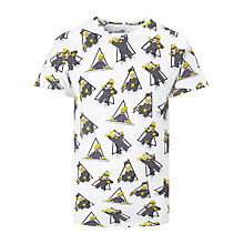 Buy Eleven Paris Alhom Homer T-Shirt, White/Multi Online at johnlewis.com