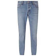 Buy Cheap Monday Linear T2 Tapered Jeans, Light Wash Online at johnlewis.com