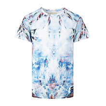 Buy Eleven Paris Ocean Palm Print T-Shirt, White/Multi Online at johnlewis.com