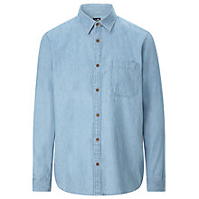 Buy Cheap Monday Torex Denim Shirt, Chambray Online at johnlewis.com